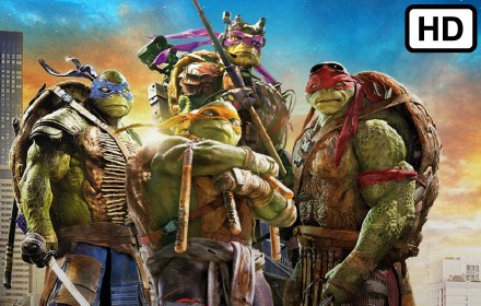 Ninja Turtles HD Wallpapers New Tab Theme插件截图