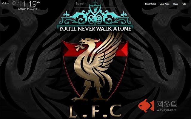 Liverpool Wallpapers FullHD New Tab