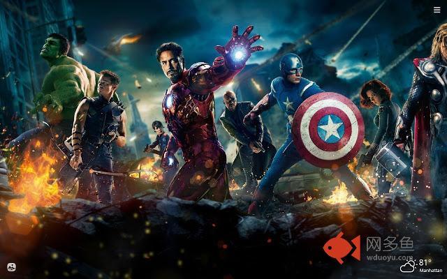 Marvel Superheroes HD Wallpapers New Tab