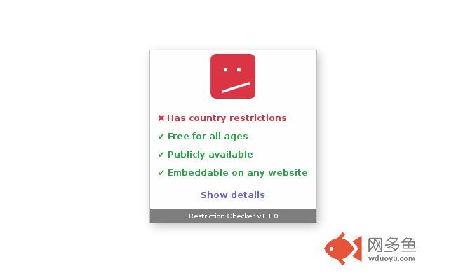 Restriction Checker