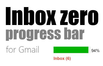Inbox Zero Progress Bar插件截图