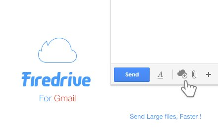 Firedrive for Gmail - Email Large Files插件截图