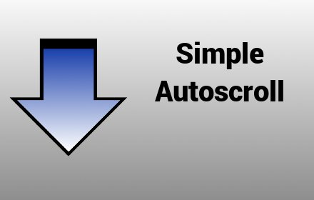 Simple Autoscroll插件截图