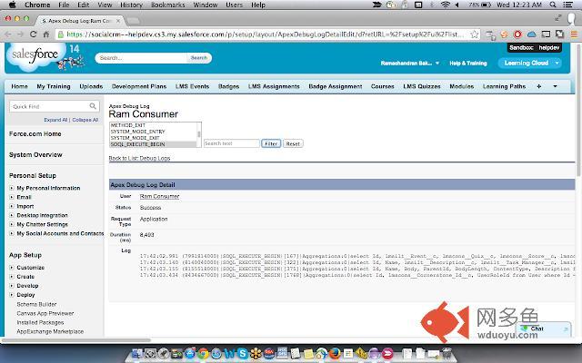 Salesforce Debug Logs Analyzer插件截图