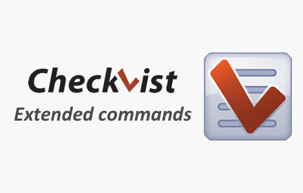 Checkvist extended commands插件截图