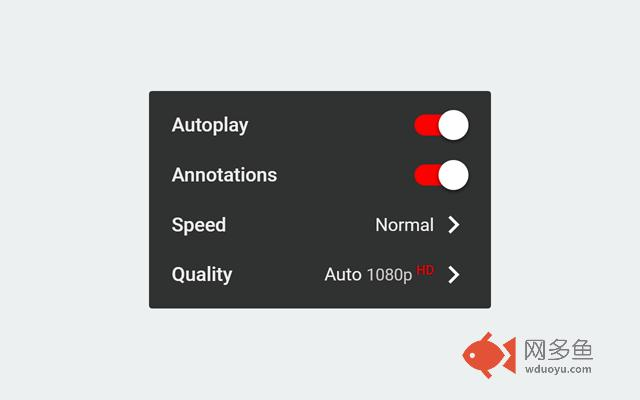 Video Quality Settings for YouTube™ (HD/4K)