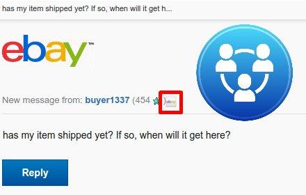 gBay - eBay inside Gmail插件截图
