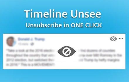 Timeline Unsee插件截图