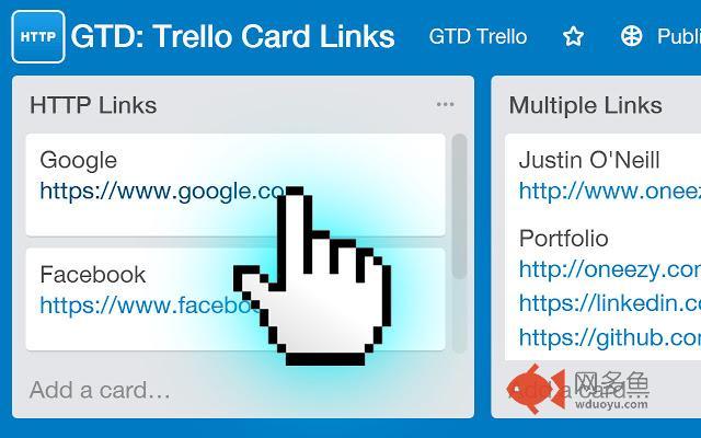 GTD: Trello Card Links