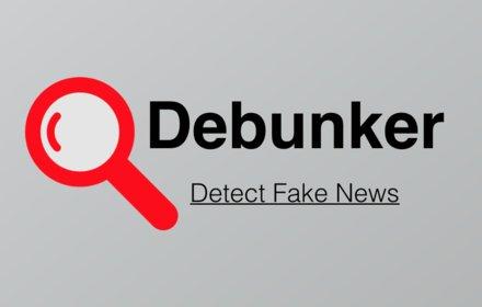 Debunker - Detect Fake News插件截图
