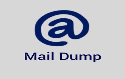 Mail Dump插件截图