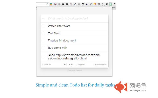 Simplest Todo List