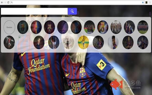 Barcelona FC Wallpapers Themes HD