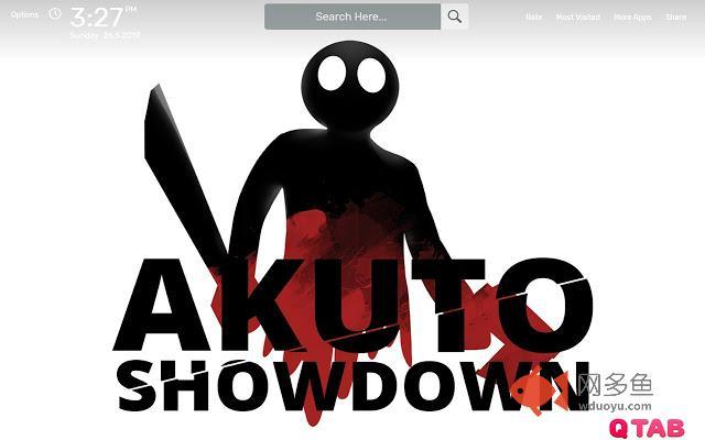Akuto Showdown Wallpapers HD Theme