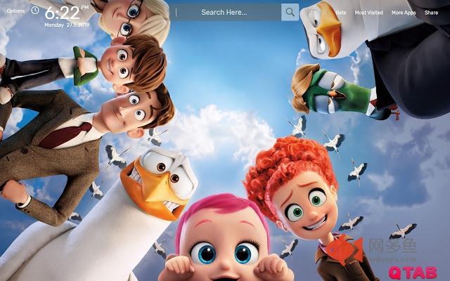 Cartoon Movie Wallpapers HD Theme插件截图