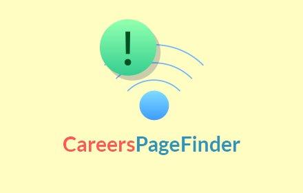 Careers Page Finder插件截图