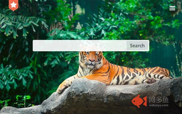 Tiger. New tab