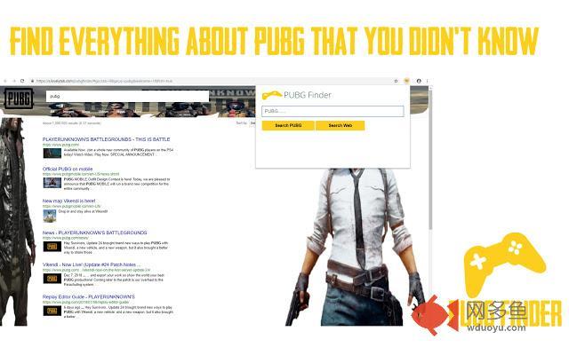 PUBG Finder