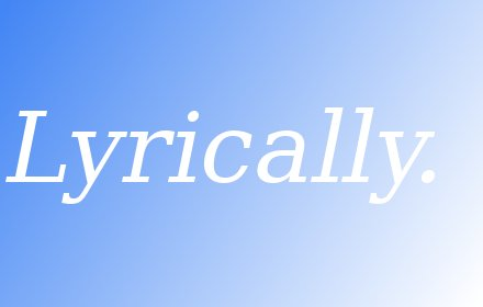 Lyrically插件截图