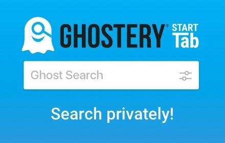Ghostery Start Tab插件截图