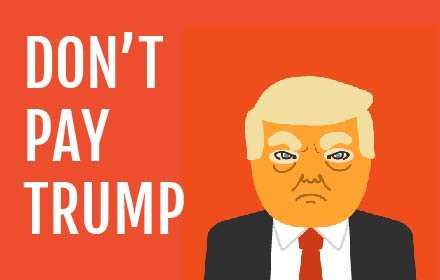Don't Pay Trump插件截图