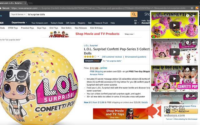 Amazon Youtube Reviews插件截图