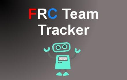 FRC Team Tracker插件截图