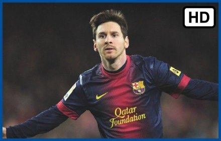 Lionel Messi HD Wallpaper Theme插件截图