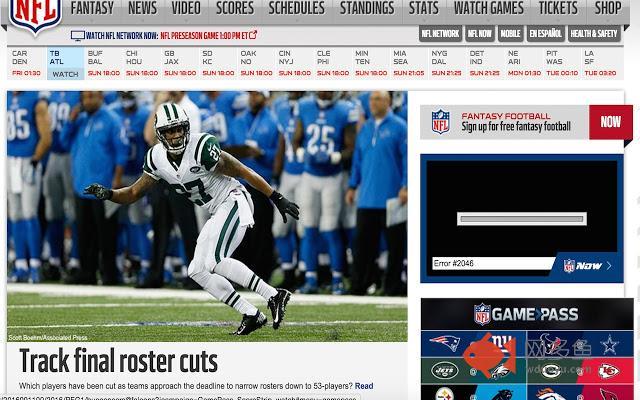 NFL Timezone 18/19插件截图