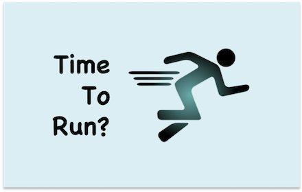 Time to run?插件截图