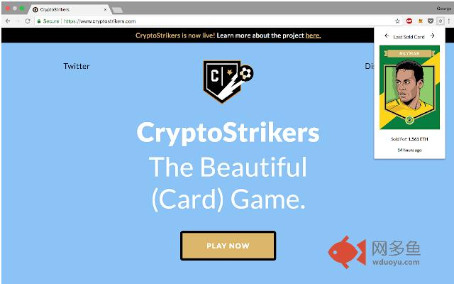 Cryptostrikers Last Sold Cards插件截图