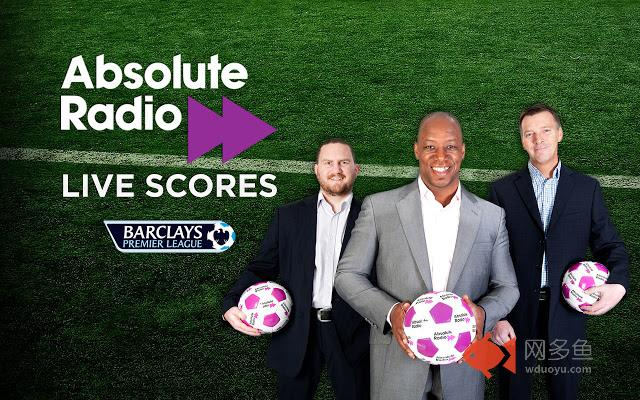 Absolute Radio Live Scores