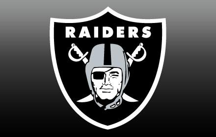 OFFICIAL NFL Oakland Raiders HD New Tab Theme插件截图